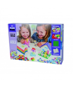 Konstruktors Plus Plus Mini Pastel-Neon LEARN TO BUILD